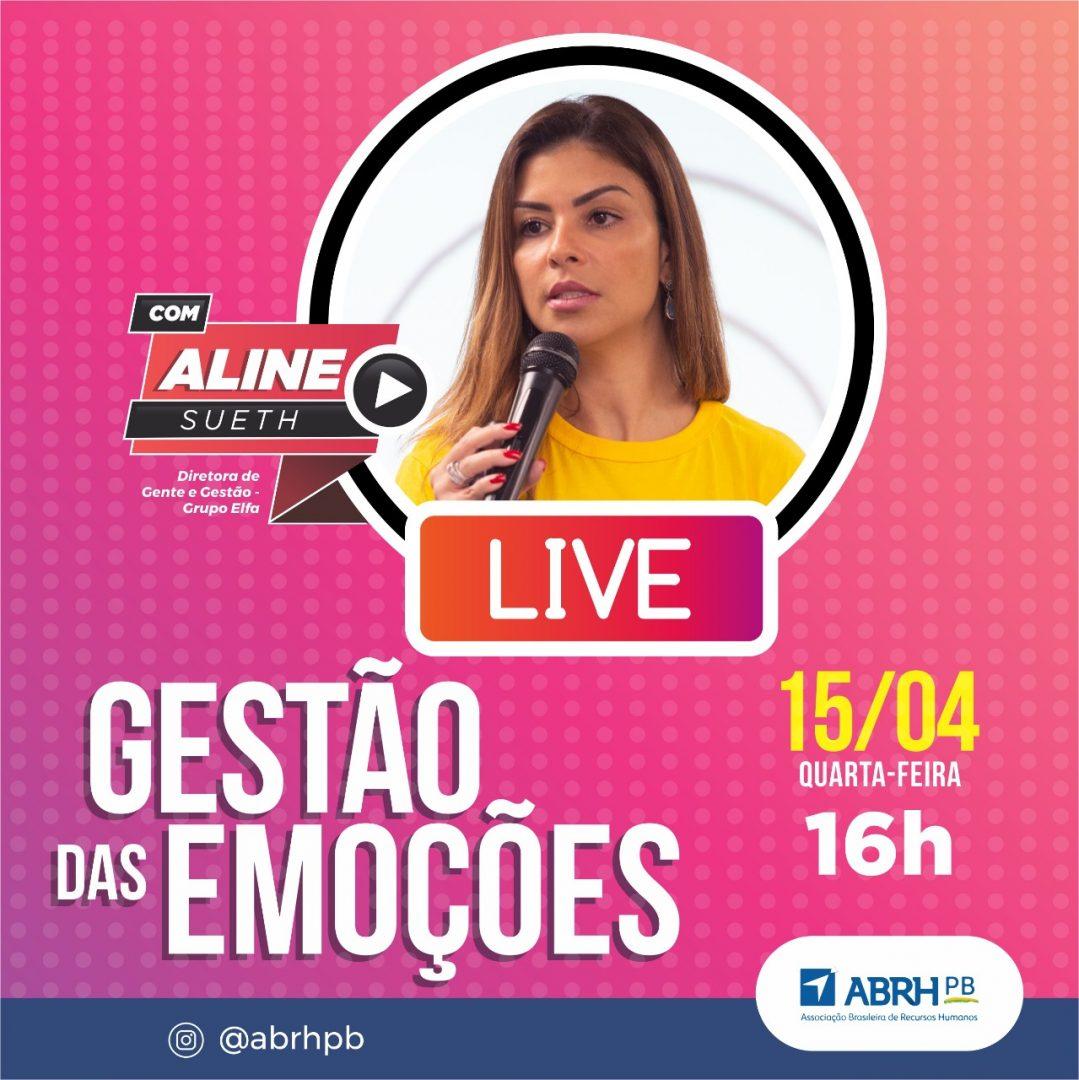 Live com Aline Sueth