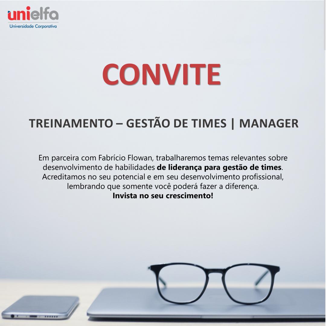 Manager | Gestão de Times